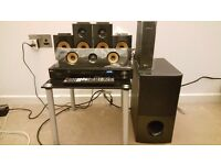 LG Home Theater System LHB725