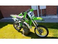 Kawasaki KX65 Mint bike with new parts / stickers etc