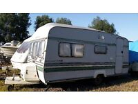 Luna Clubman 450 Caravan in Ex. Condition For Sale or Exchange for Horse Box