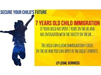 If you child has lived in the UK for 7 years- Apply today for your immigration status