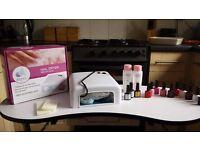 CCO gel nail kit - hardly used