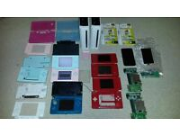Nintendo 3DS, DS Lite & Wii consoles and other replacement parts