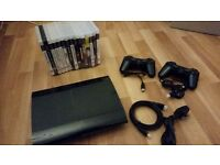 PS3 500GB with games