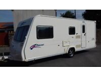 bailey pageant champagne 4 berth caravan 2008/09
