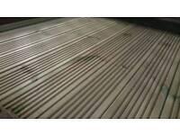 Tanalised Treated Redwood Garden Decking boards 4.8meter 16ft
