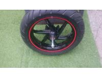 Gilera runner wheel and tyre
