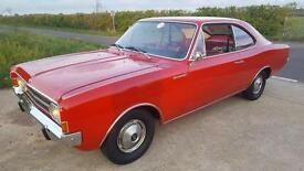 1967 Opel Rekord 1900 Coupe LHD