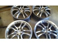 BRABUS MONOBLOCK S ALLOY WHEEL SET 18""