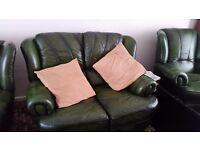 Saxon leather suite