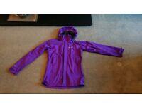 Berghaus aquafoil waterproof jacket, ladies size 10