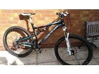 Boardman 650b team full suspension mountain bike, mtb MEDIUM