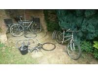 Bikes hybrid, ladies mtb tlc spares/repairs