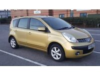 Nissan note 2006- Auto- petrol 1.6 - New MOT- Only 57k- HPI clear- AC- full service history