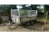 8 X 5 nugent trailer dropsides high mesh sides removable