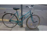 Beautiful blue vintage Dawes bike