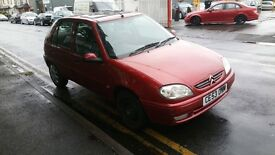 Insurance group ideal first car Citroen Saxo with power steering 53 reg , px welocme