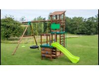 Little Tikes Buckingham play centre - Swings / Slide and tower