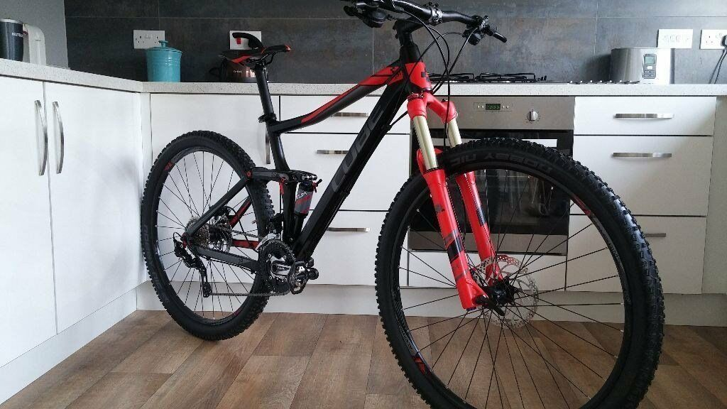 Cube Sting 120mm Full Suspension 29er in immaculate condition