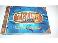 'Legendary Journeys - Trains' book
