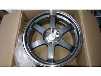 Alloy Wheels x4 17 inch 7.5j
