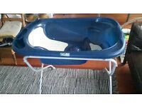 Cam C524 Stand and Cam Il Mondo del Bambino C090 Baby Bath Tub Dark Blue