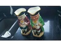 Pair of toby jugs