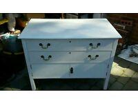 Vintage drawers with storage