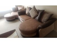 Large DFS Sofa and Cuddler - Local Delivery Available