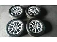 Audi Q5 Alloy Wheels with good tyres Look....