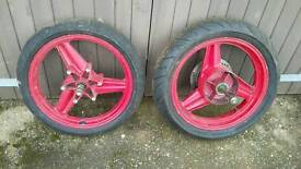 Early CBR 600 Wheels