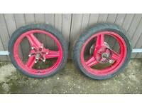 Early CBR 600 Wheels