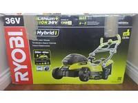 Ryobi RLM18C34H25 ONE+ 36 V Cordless Hybrid Lawnmower BARE UNIT ONLY