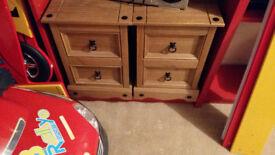 Bedside Tables - Wood