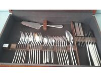 Vintage Canteen of Silver Plated Cutlery.