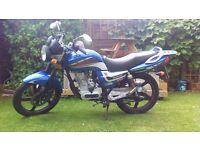 LEXMOTO ARROW 125cc Lerner legal motorbike