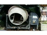 Kinzo 70 ltr electric cement mixer