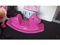 Little Trikes Pink Rocking Horse
