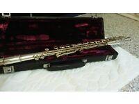 Flute & Case & Tution Books