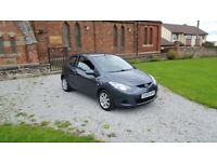 59 REG MAZDA 2 1.4 DIESEL TS2 3DR GREY MOT-20 FSH 1-OWNER OUTSTANDING FREE-DELIVERY CHEAP CAR