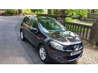 FACE LIFT 2010 NISSAN QASHQAI +2 PLUS 2 ACENTA 1.5 DCI 7 SEATER 1 FORMER KEEPER PAN ROOF FULL HISTOR