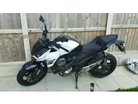 Kawasaki z800 white