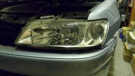 Peugeot 306 ph3 Valeo Crystal Headlights