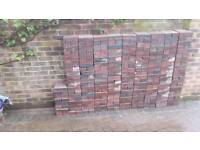 Brick pavers 60mm thick. About 380.