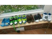 6 pairs of size 5 shoes