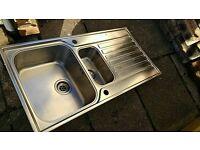 Franke Ascona 651 1.5 bowl stainless steel sink