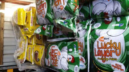 CHICKEN FEED LAYER PELLETS 20kg FREE RANGE VEGETARIAN MIX Skye Frankston Area Preview