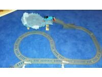 Thomas the Tank Engine close call Cliff track and train