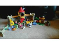Fisher Price Little People Robin Hood complete with castle
