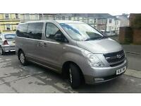 Hyundai I800 (61 plate), 8 seater people carrier