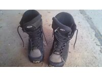 Flow snowboard boots, size 8.5